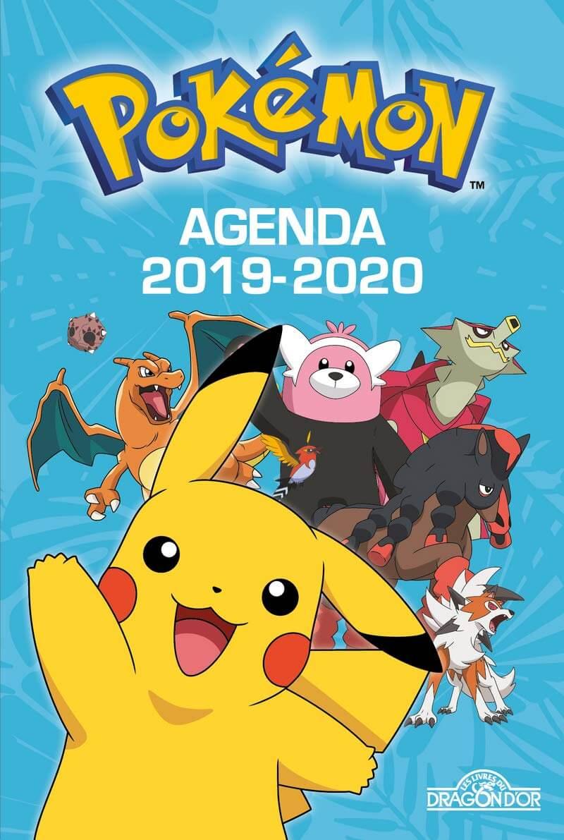 Calendrier De Lavent Pokemon 2020.Agenda De Poche Pokemon 2019 2020