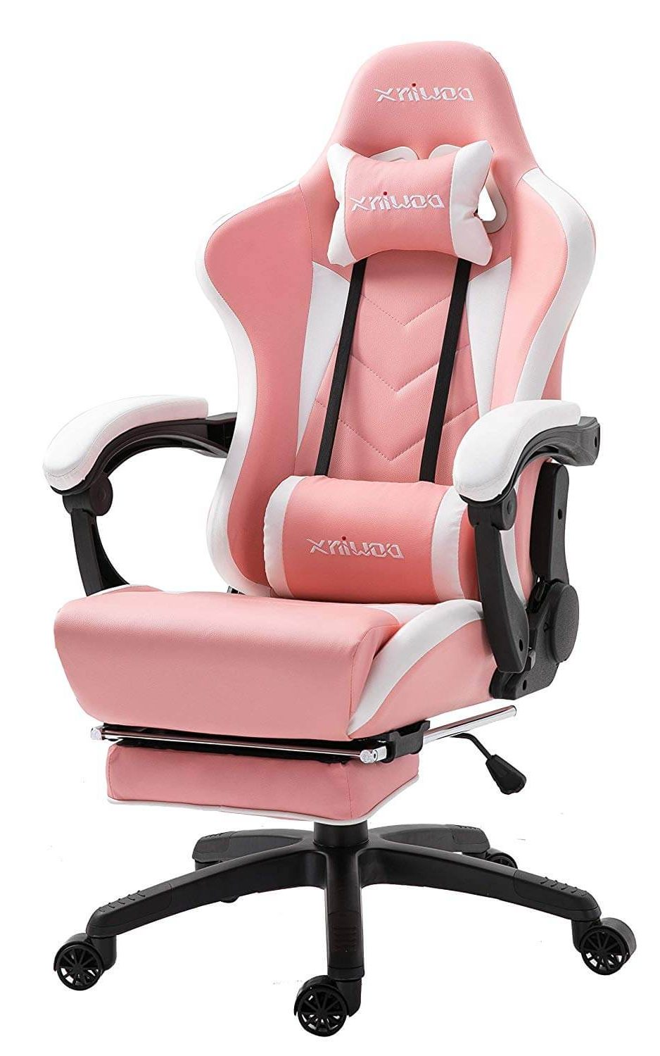 Chaise gaming rose massante