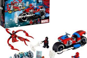 lego spiderman lego 76114 lego 76113 lego 76115 lego 76128 le sauvetage en moto de spiderman lego 76130