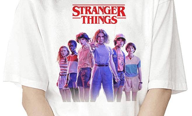 t-shirts stranger things eleven t shirts stranger things femme